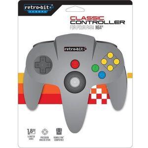 MANETTE JEUX VIDÉO Manette Retro-Bit pour Nintendo 64