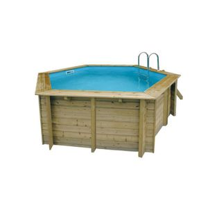 Piscine semi enterr e achat vente piscine semi for Piscine pas cher semi enterree