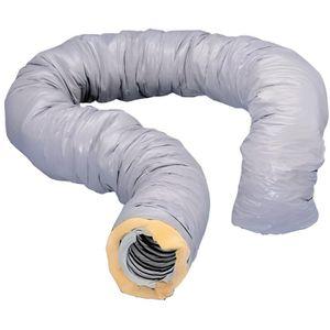 VMC - ACCESSOIRES VMC Gaine vmc souple PVC isolé de 25mm diamètre 80mm l