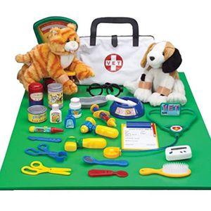 DOCTEUR - VÉTÉRINAIRE Docteur REDOR Jeux de rôles vétérinaire Play-Set a
