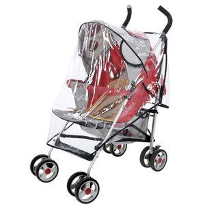 HABILLAGE PLUIE  LOLOLO Couverture pour bébé carriage poussette uni
