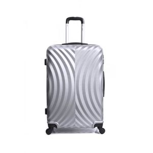 VALISE - BAGAGE Valise Grand Format ABS – Rigide – 70 cm LAGOS-GRI