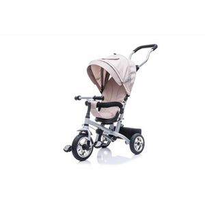 POUSSETTE  Poussette-Tricycle Evolutive Deluxe Beige,  84L x