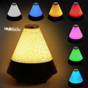 ENCEINTE NOMADE KING IMMIGOO - 7 Couleurs LED Enceinte Portable Bl