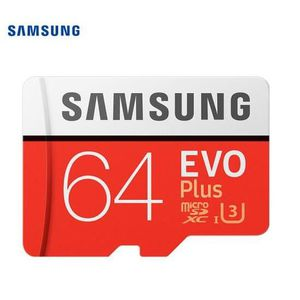 CARTE MÉMOIRE Carte mémoire micro SD Samsung Carte TF 64 Go 100M