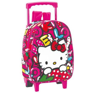 CARTABLE Sac à roulettes Hello Kitty Sweetness 28 CM matern