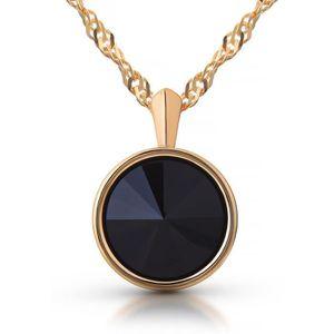 Boucle d'oreille Premium Collier avec pendentif Swarovski diamant n