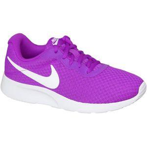 shop new release finest selection Nike Tanjun Wmns 812655-510 Femme Baskets Violet Violette ...