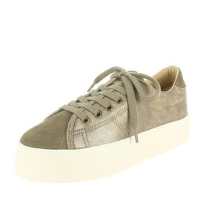 BASKET baskets mode plato sneaker suede gloom femme no na