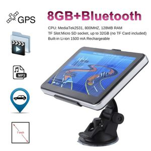 GPS AUTO OUTAD® Navigation de voiture GPS bluetooth FM 7Inc