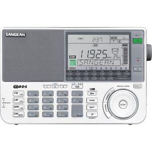 RADIO CD CASSETTE SANGEAN - ATS-909 X - Récepteur mondial Blanc