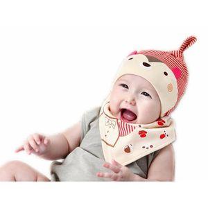 BAVOIR Bavoir et Chapeau pour bébé Bavoir Naissance Proté