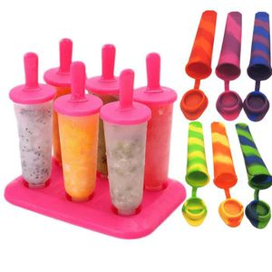 Gaetooely Set de 8 Batons Moule a Sorbet Glacon Gelee Creme Glacer Pops Popsicle Yogurt
