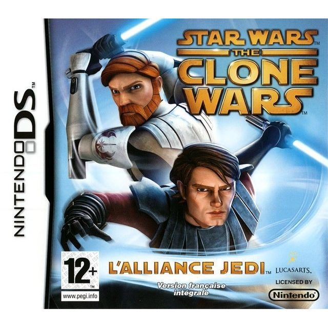 JEU DS - DSI STAR WARS CLONE WARS : Jedi alliance / JEU CONSOLE