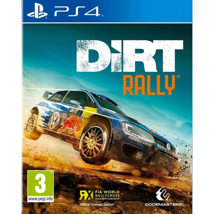 dirt rally jeu ps4 achat vente jeu ps4 dirt rally ps4 cdiscount. Black Bedroom Furniture Sets. Home Design Ideas