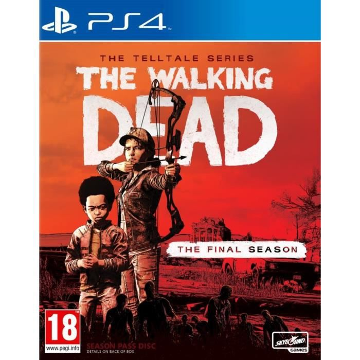 The Walking Dead : The Final Season Jeu PS4