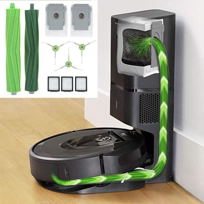 Kit de filtre brosse de rechange pour brosse principale pour robot nettoyeur principal pour iRobot Roomba I7 E5 E6-OHL