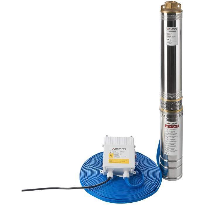Pompe immergée pour puits 1100 W 5400 l//h OMNITRON 5000