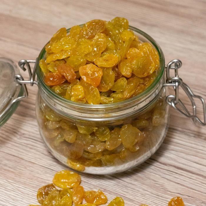 Raisins blonds jumbo - 2x500g - Chili