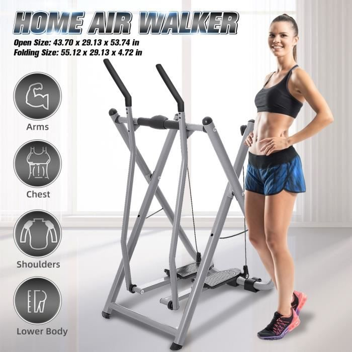 Air Walker Marcheur Stepper Pliable Entraînement Exercice Charge MAX 120KG