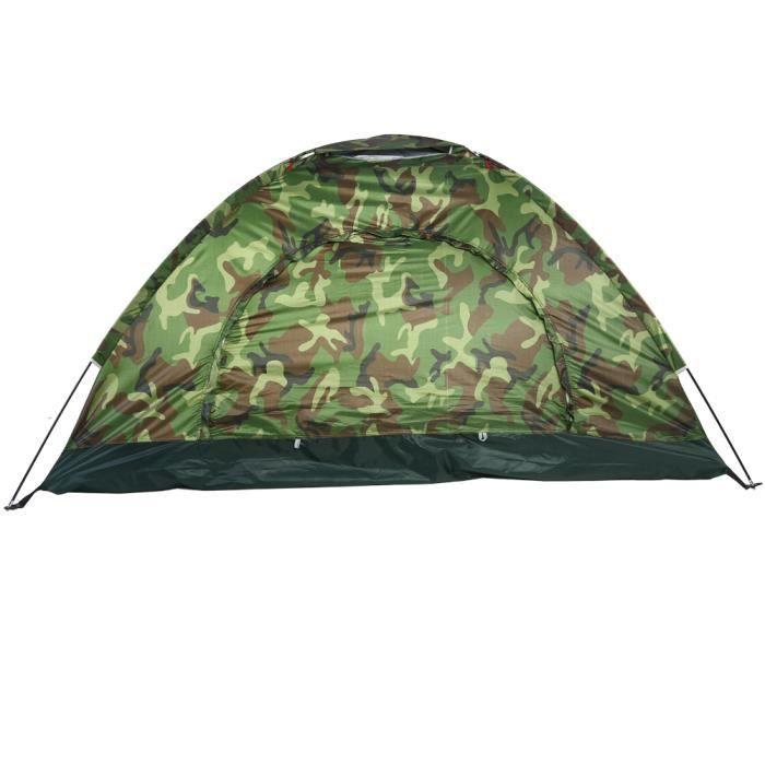 Tente, tentes légères et imperméables pour le camping, tente de camping 2 personnes, robuste et durable pour la randonnée en