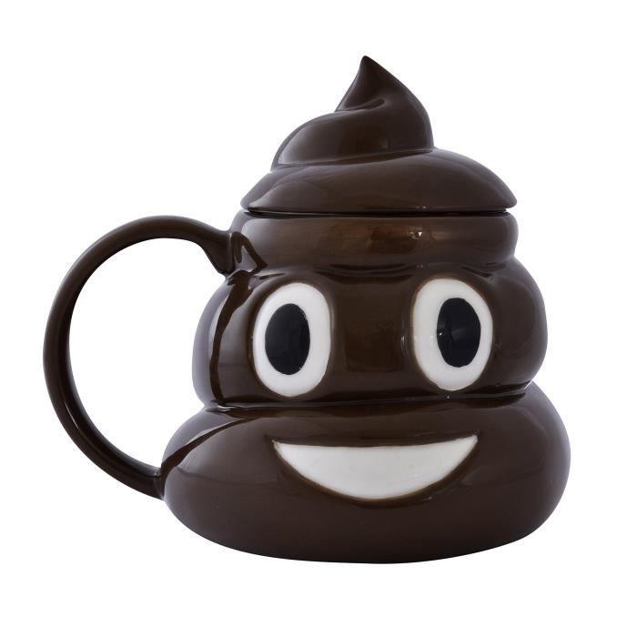 The Source Wholesale Emoticon Poo Mug