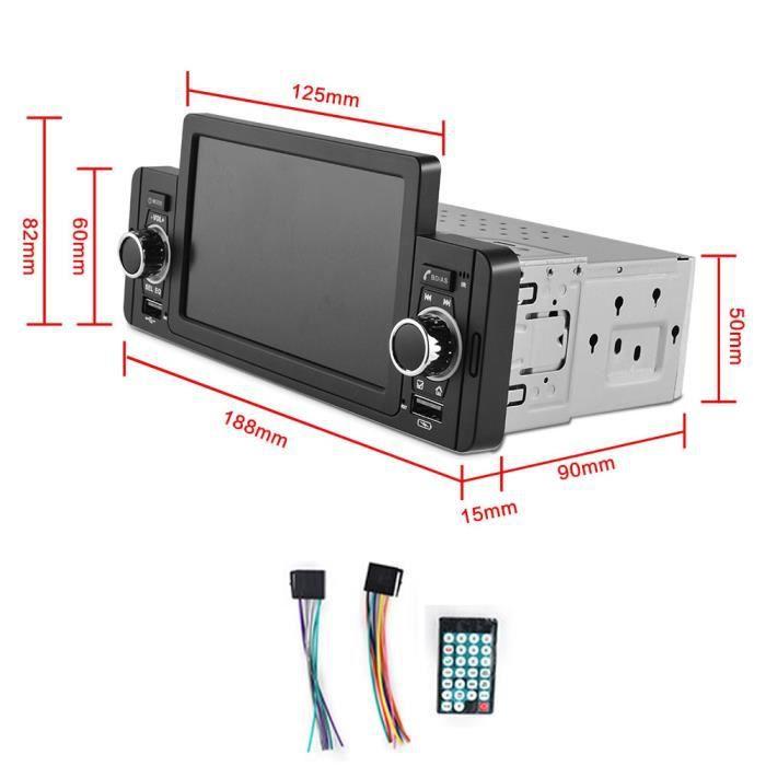 Mp5 Autoradio multimédia, Bluetooth, IPS, MP5, lecteur vidéo, mirrorlink, stéréo, pour VW, Hyundai, nissan, T