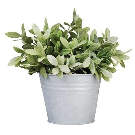 Pot de fleur en zinc S