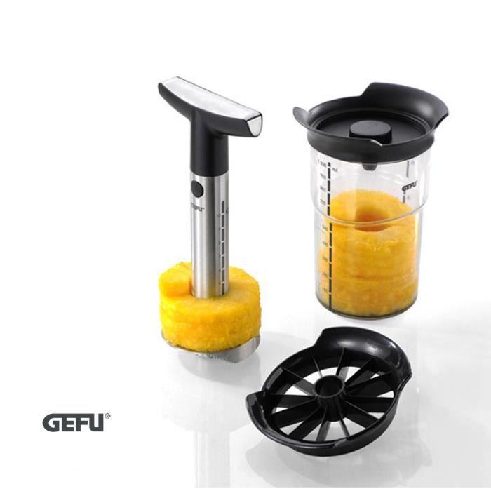 Gefu - Découpe ananas récipient