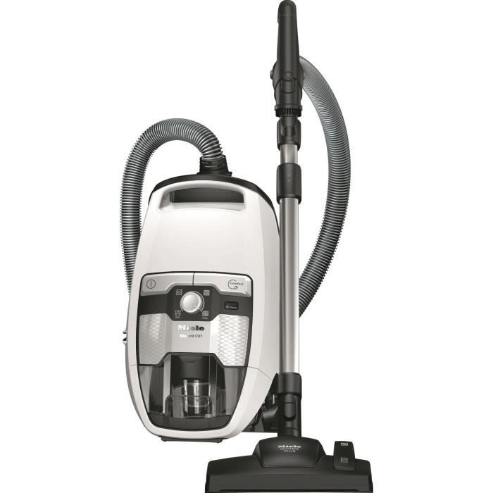 MIELE Blizzard CX1 Excellence Eco Aspirateur traîneau sans sac - 550W - 70 dB - A+ - Blanc