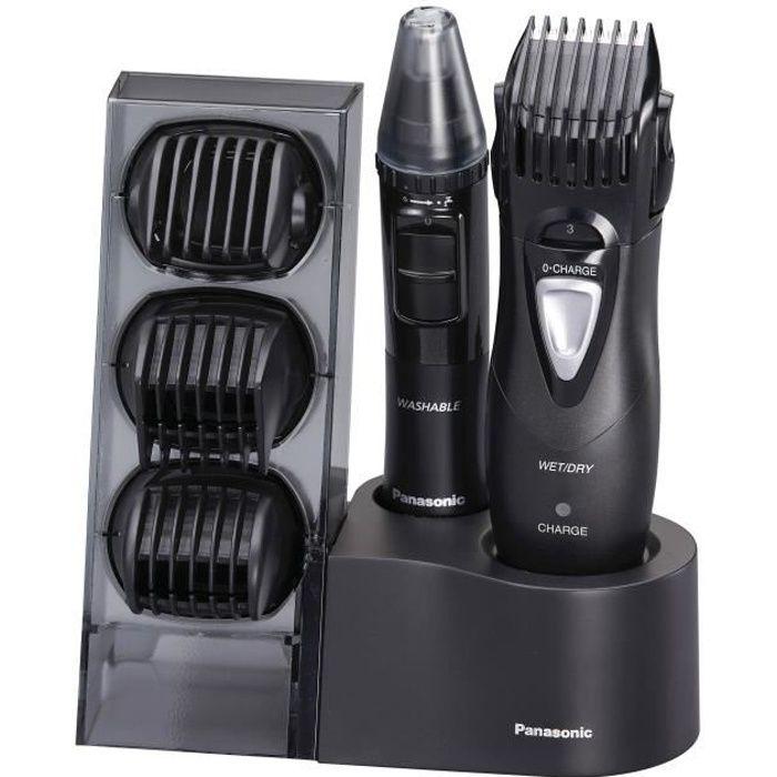 PANASONIC ER-GY10CM504 Tondeuse Wet & Dry multi-usages 4 en 1 (cheveux, barbe, corps, visage)