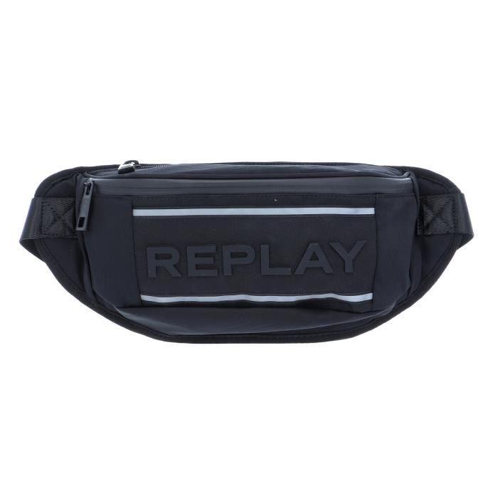 REPLAY Waist Bag Black [99845]