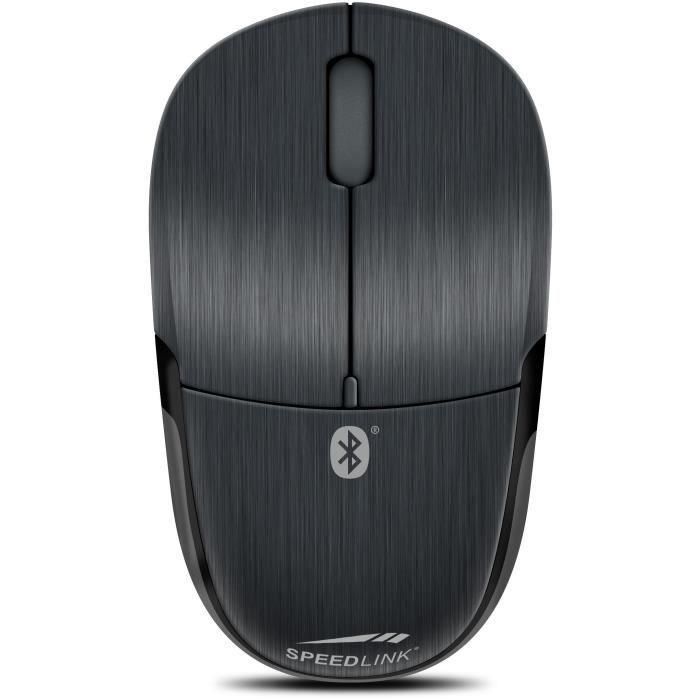 Speedlink JIXSTER Mouse Bluetooth - Souris Bluetooth à Trois Boutons (1400Dpi, Capteur Optique) Noir
