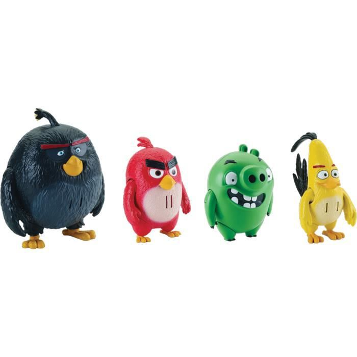 Spin Master Angry Birds Pers.Artic. + Sons - Jeux-Jouets