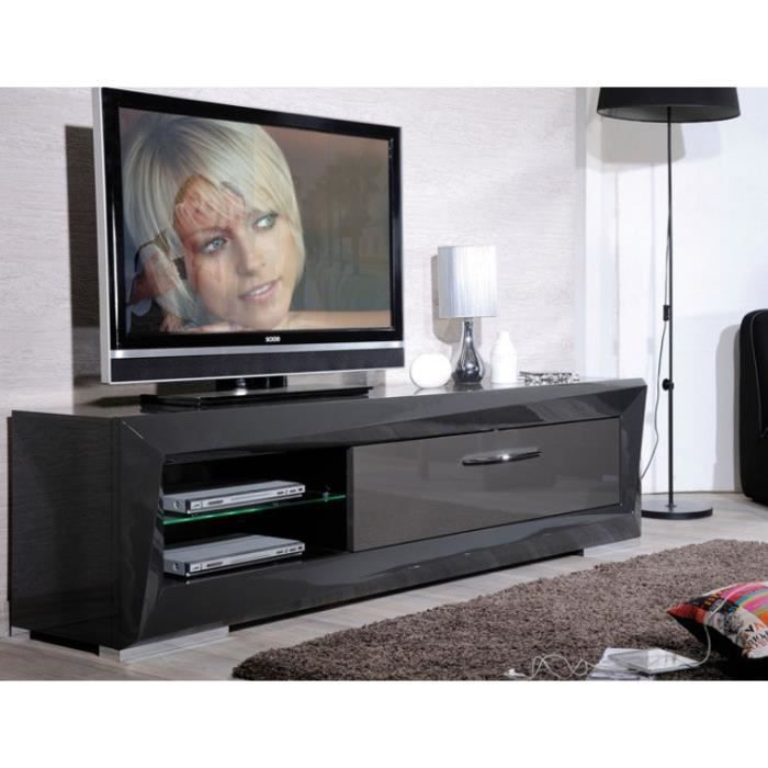 meuble hifi video table de lit. Black Bedroom Furniture Sets. Home Design Ideas