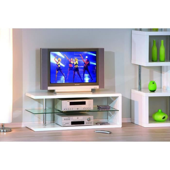 meuble tv blanc led pas cher. Black Bedroom Furniture Sets. Home Design Ideas