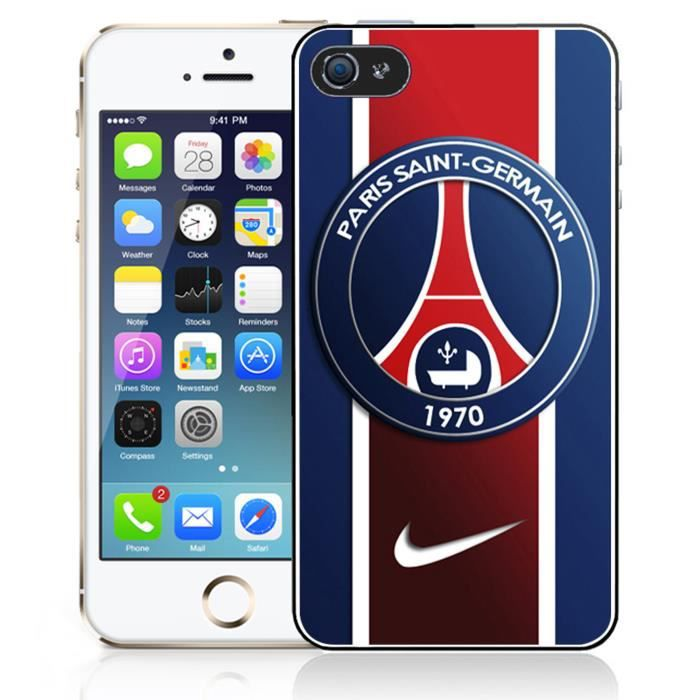 coque iphone 5 5s se psg nike