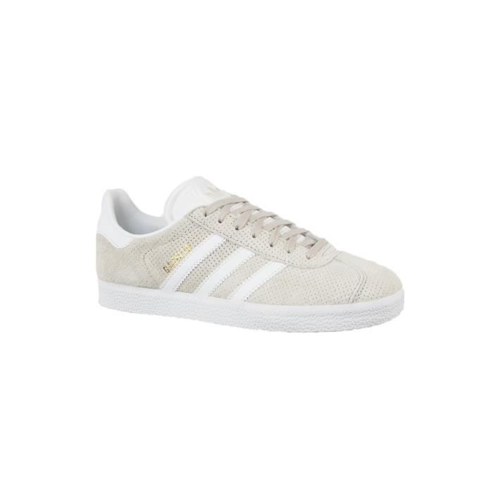 baskets mode adidas originals by9360 gazelle w beige