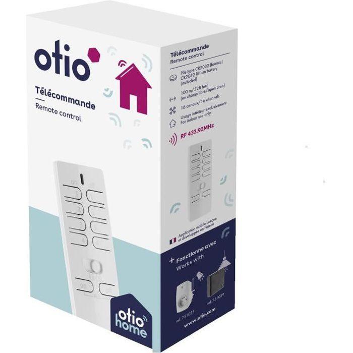 Otio Prise télécommandée d/'extérieur PTE-8008 Eclairages