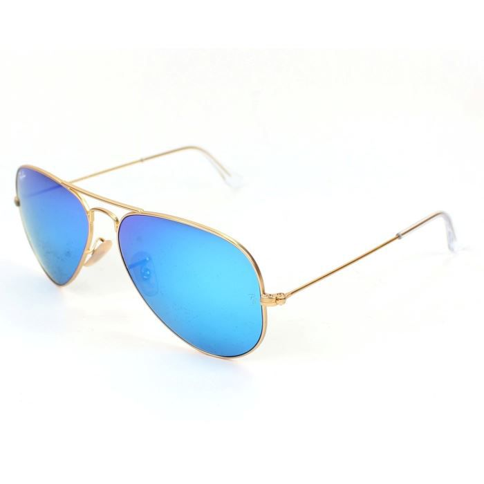 70ad8da024a7a1 Lunettes de soleil Ray Ban RB3025 Or, verres Ma… Or - Achat   Vente ...