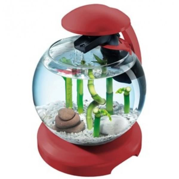 tetra aquarium cascade globe 6 8 l rouge bordeaux achat vente aquarium aquarium cascade. Black Bedroom Furniture Sets. Home Design Ideas