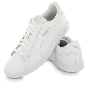 Puma blanc V2 homme mode L Smash baskets raCRrw