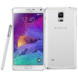 SMARTPHONE Blanc pour Samsung Galaxy Note 4 N910F 32GB occasi