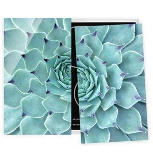 PLAQUE INDUCTION Couvre plaque de cuisson - Cactus Agave - 52x60cm,