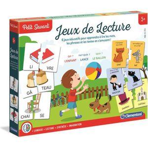 JEU D'APPRENTISSAGE CLEMENTONI Petit Savant - Jeux de lecture - 5 ans