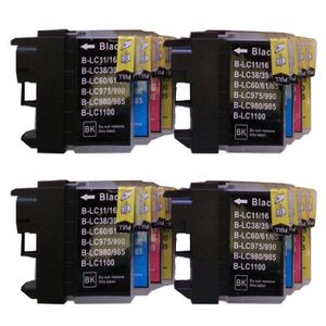 CARTOUCHE IMPRIMANTE 16 XL ColourDirect Cartouche D'encres LC1100 LC985