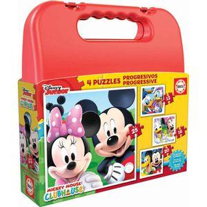 PUZZLE EDUCA - Malette Puzzles Progressifs MICKEY