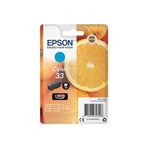 CARTOUCHE IMPRIMANTE Epson 33 4.5 ml cyan originale blister cartouche d