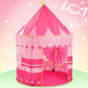 TENTE TUNNEL D'ACTIVITÉ Tente de jeu pour enfants (KDZT05-6 Candy Palace)