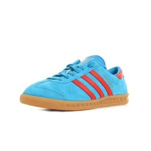 Baskets adidas Originals Hamburg Bleu marine, rouge Achat